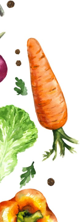 Veggie Image Left